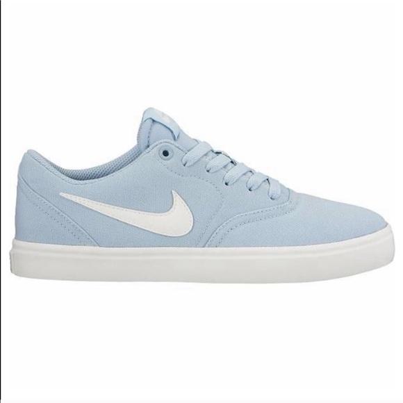 Women's Nike SB Baby blue sneakers size 8